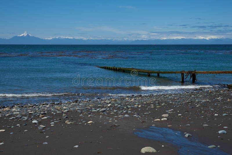 Ö av Chiloe royaltyfria foton