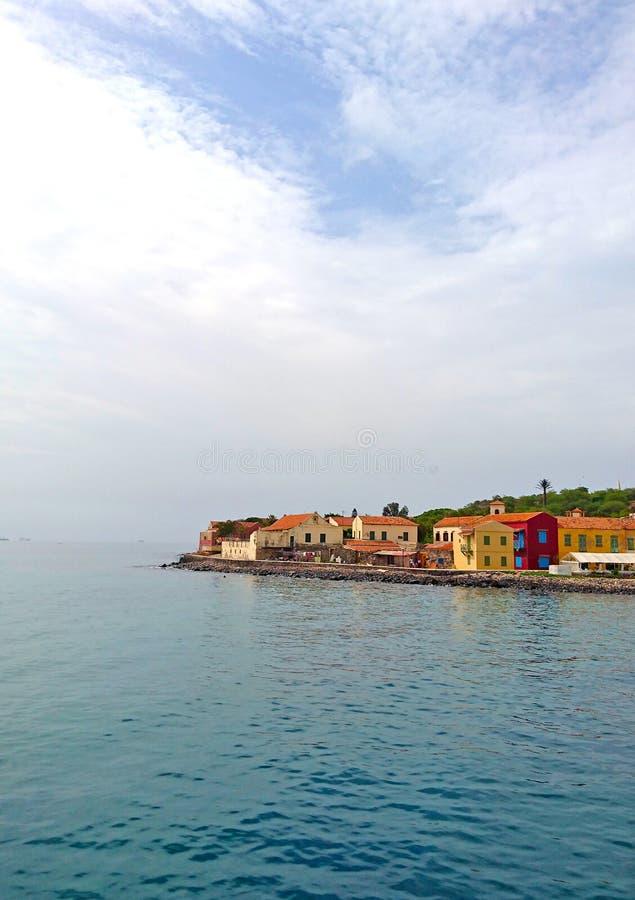 Ö av Gorée i Senegal arkivfoto