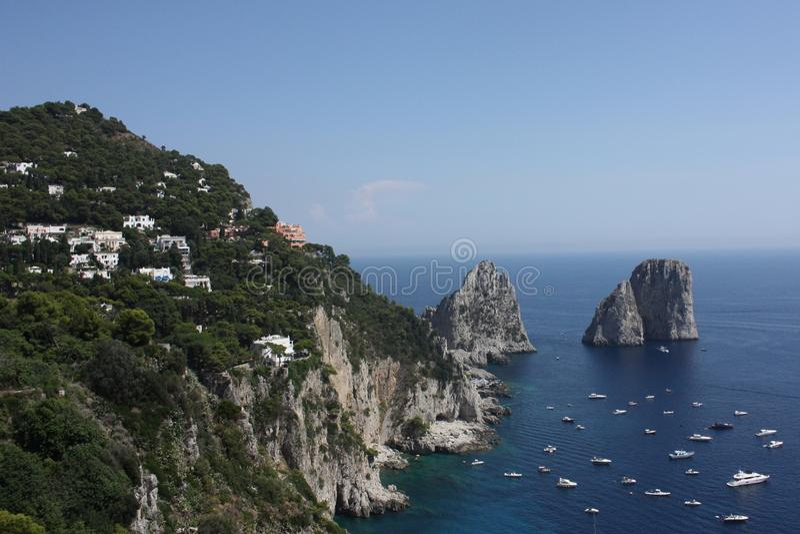 Ö Capri royaltyfri foto