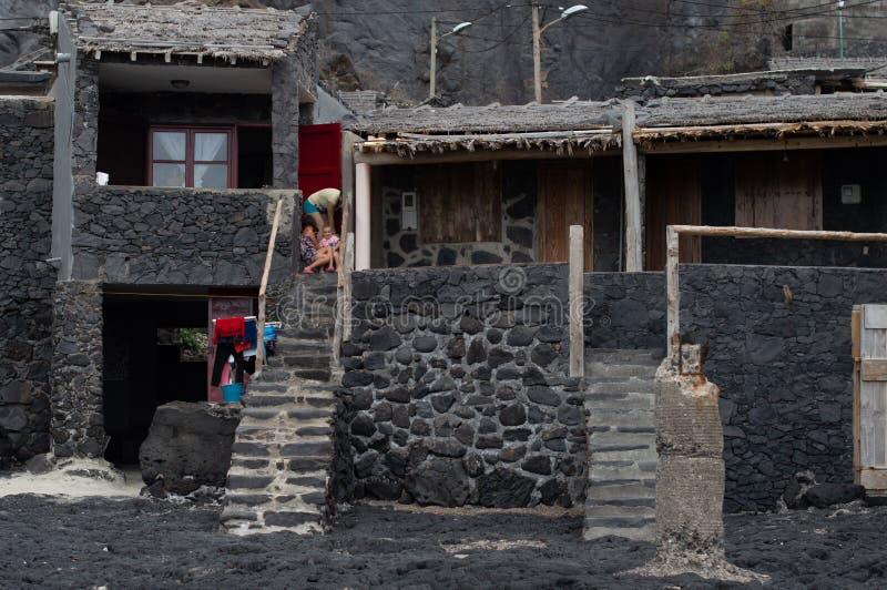 Ö för El Hierro - bild 27 arkivbild
