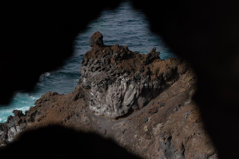 Ö för El Hierro - bild 82 arkivbild
