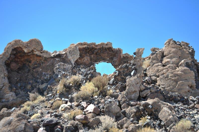 Ö Inca Wasi - kaktusö arkivfoton