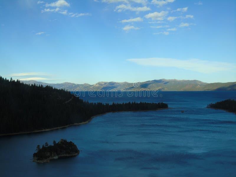 ö Lake Tahoe arkivbild