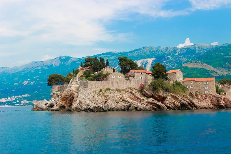 ö montenegro royaltyfri foto