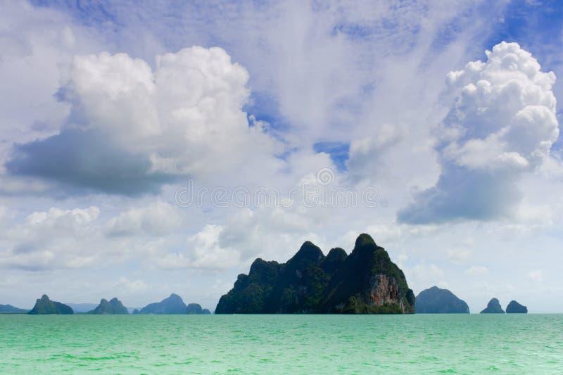öar arkivfoton