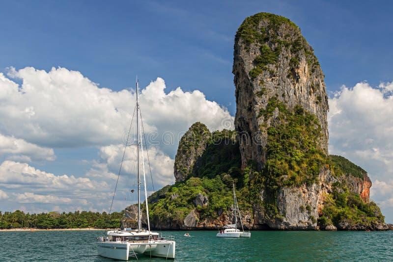 ?ar i det Krabi landskapet av Thailand royaltyfria bilder