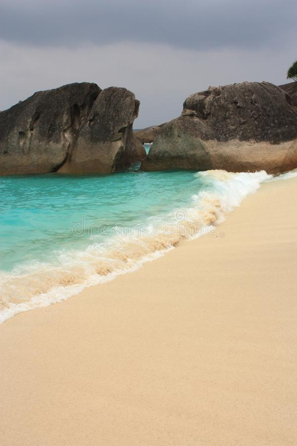 öar Phuket Similan Thailand Royaltyfri Bild