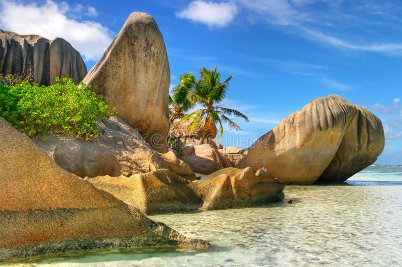 öar seychelles royaltyfri fotografi