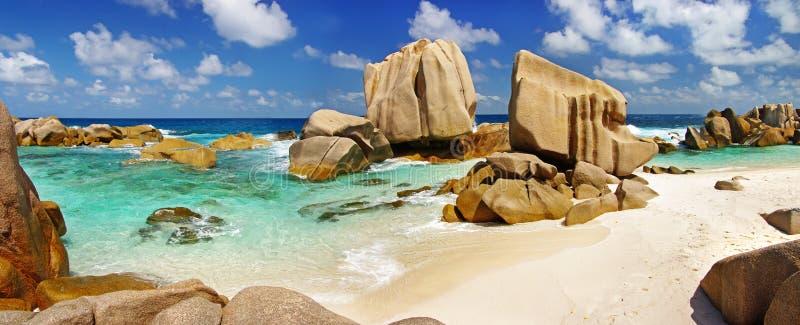 öar seychelles royaltyfria foton