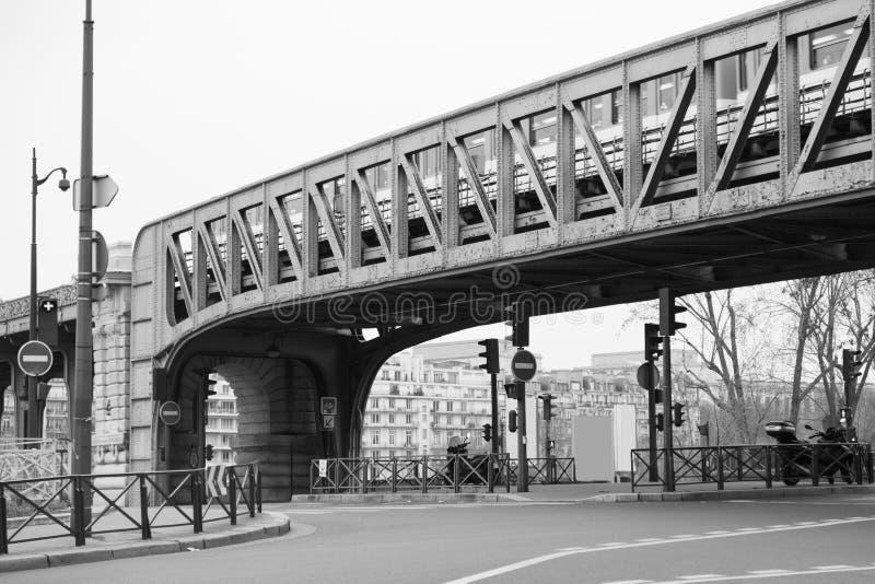 Öffentliche Transportmittel in Paris stockfoto