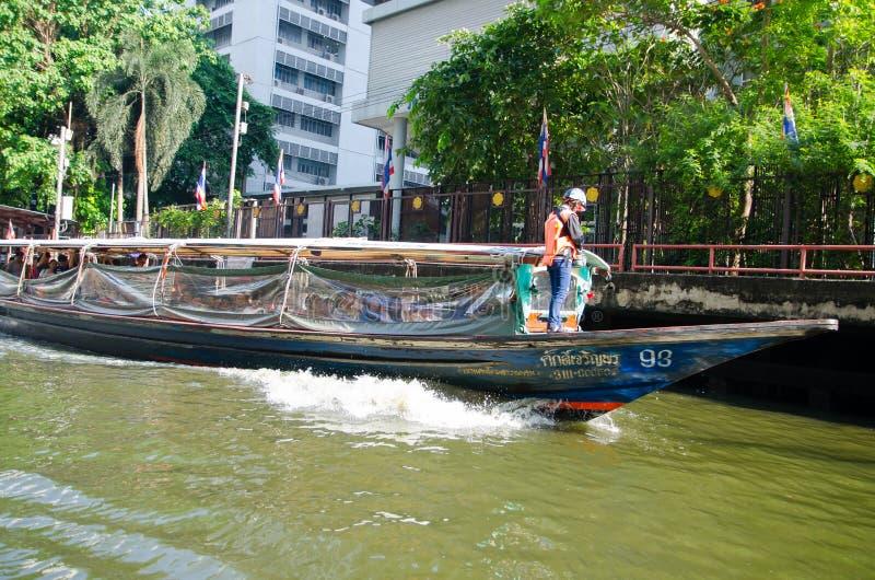 Öffentlicher Bootsdienst in Sansab-Kanal lizenzfreie stockfotografie