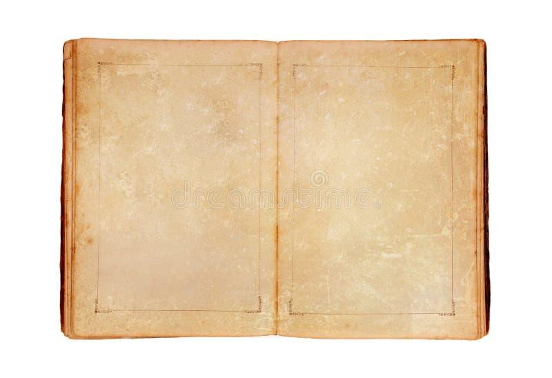 Öffnen Sie altes Buch lizenzfreies stockfoto