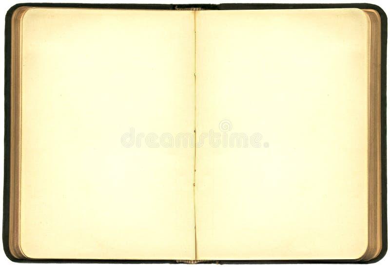 Öffnen Sie altes Buch XXL stockfotos
