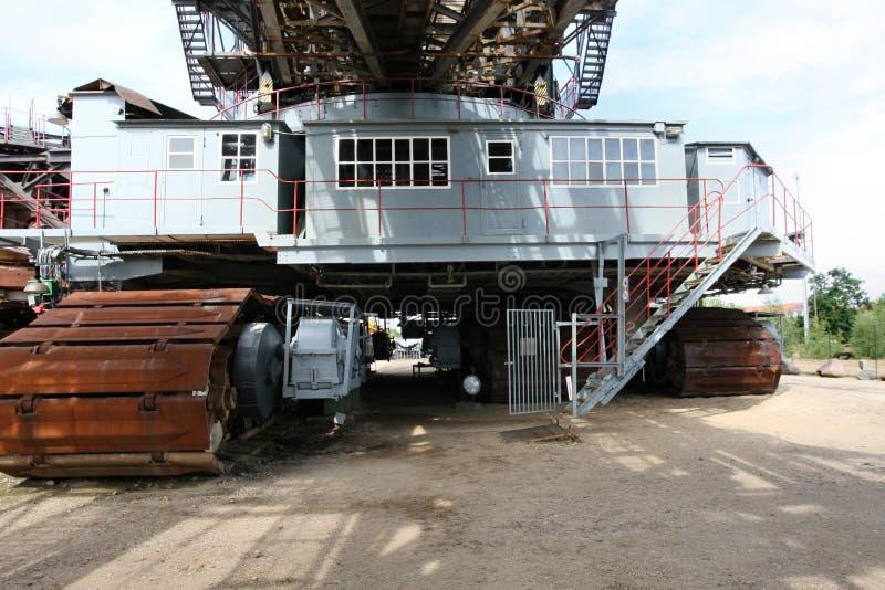 Öffnen Sie Bergbauexkavator 2 stockfotografie
