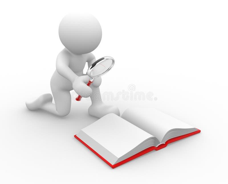 Öffnen Sie Buch vektor abbildung