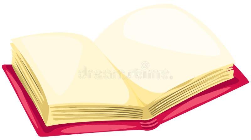 Öffnen Sie Buch stock abbildung