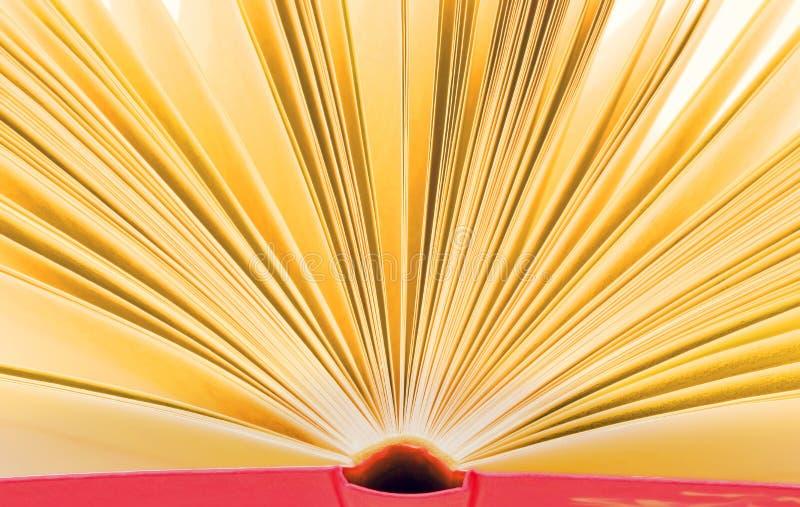Öffnen Sie Buch - netten Hintergrund stockfoto