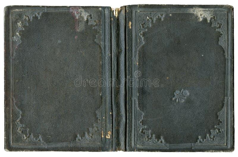 Öffnen Sie Bucheinband lizenzfreies stockbild