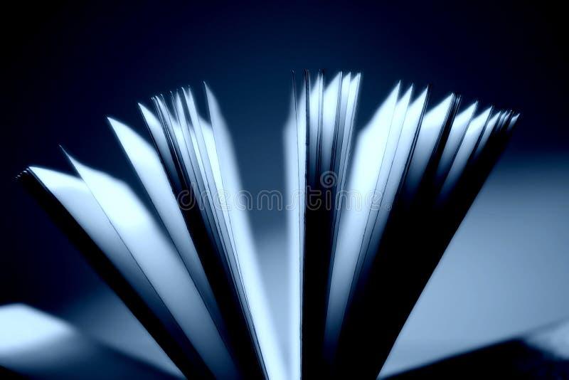 Öffnen Sie Buchnahaufnahme lizenzfreie stockbilder