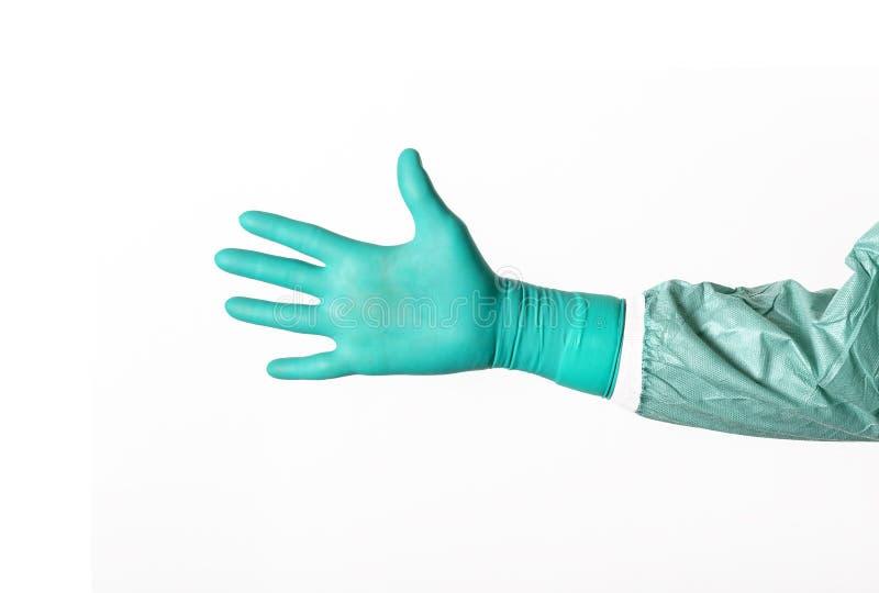 Öffnen Sie chirurgische Hand lizenzfreies stockbild