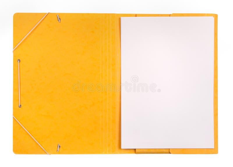Öffnen Sie Faltblatt lizenzfreie stockfotos