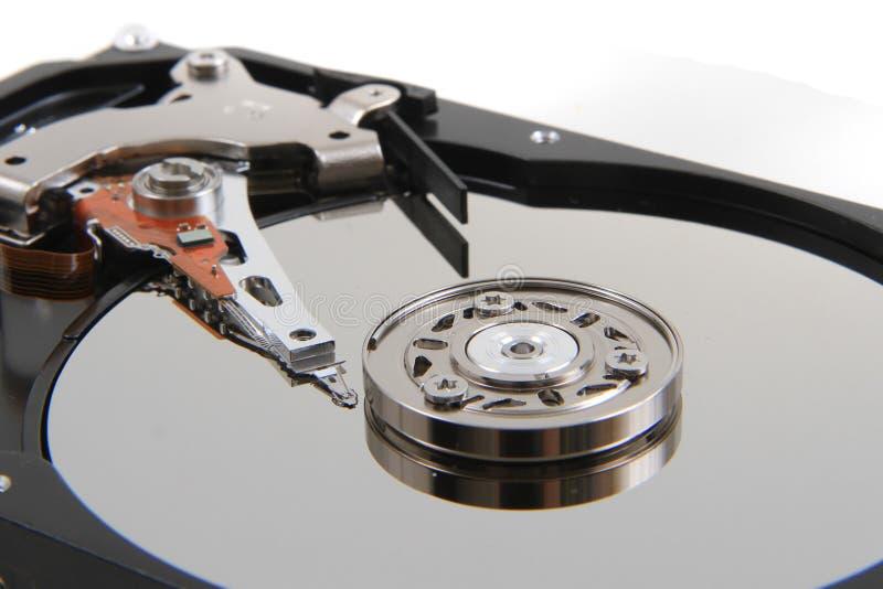 Öffnen Sie Festplattenlaufwerk lizenzfreie stockbilder