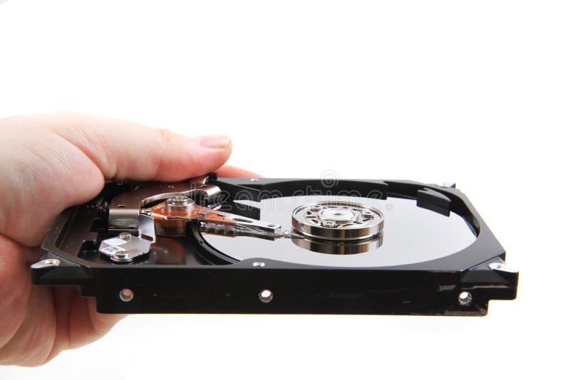 Öffnen Sie Festplattenlaufwerk stockfotografie