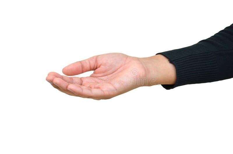 Öffnen Sie Hand stockfotos