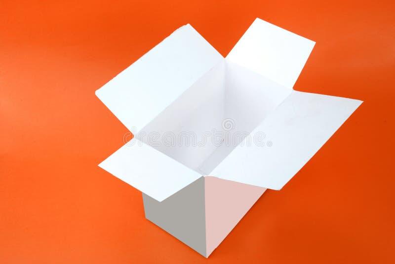 Öffnen Sie Kasten stockbild