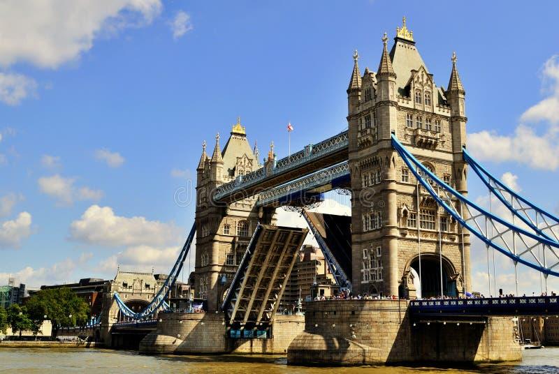 Öffnen Sie Kontrollturm-Brücke lizenzfreies stockbild