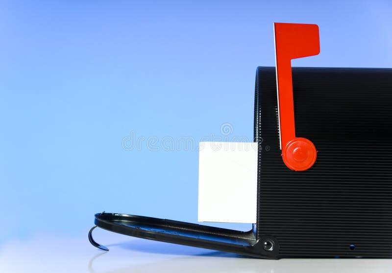 Öffnen Sie Mailbox lizenzfreies stockfoto