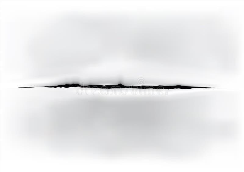 Öffnen Sie Oberfläche stock abbildung