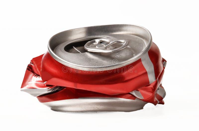 Öffnen Sie Rot kann lizenzfreie stockfotos