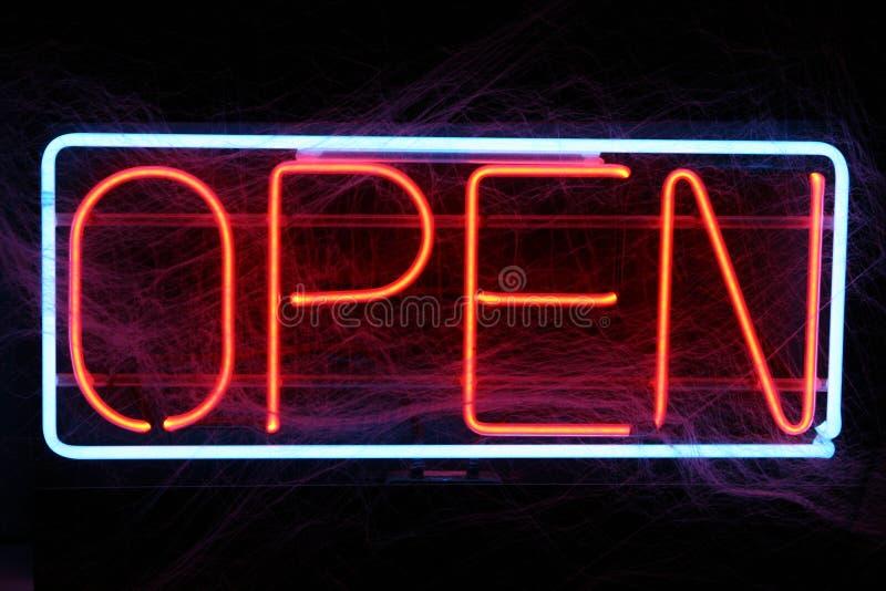 Öffnen Sie sich für Geschäft stockbilder