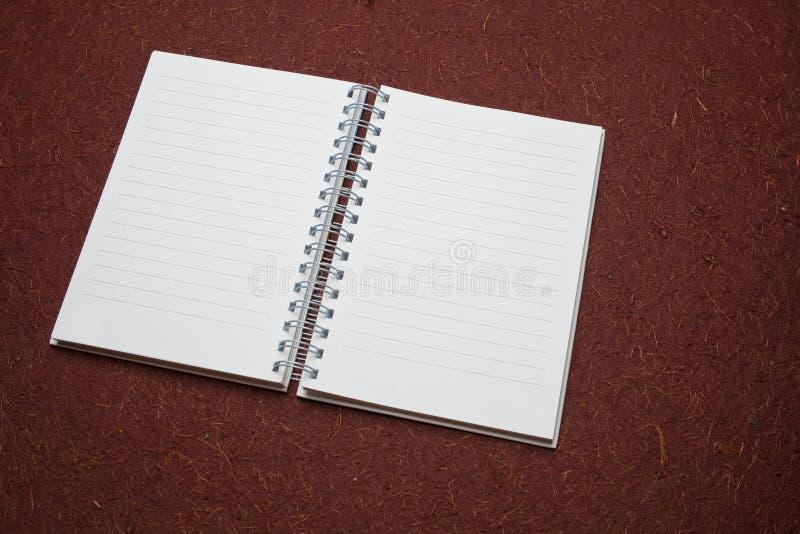 Öffnen Sie Tagebuch lizenzfreie stockbilder