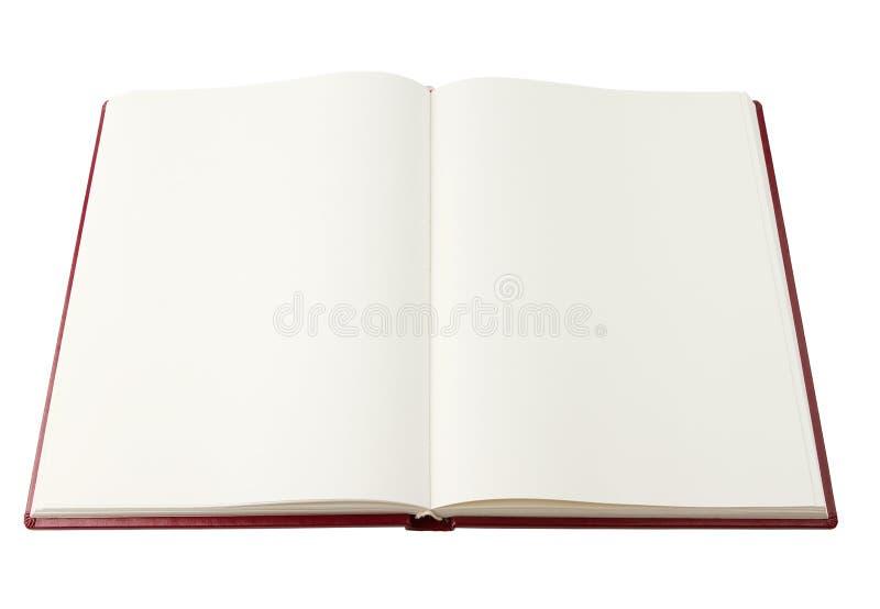 Öffnen Sie unbelegtes Buch lizenzfreie stockfotografie