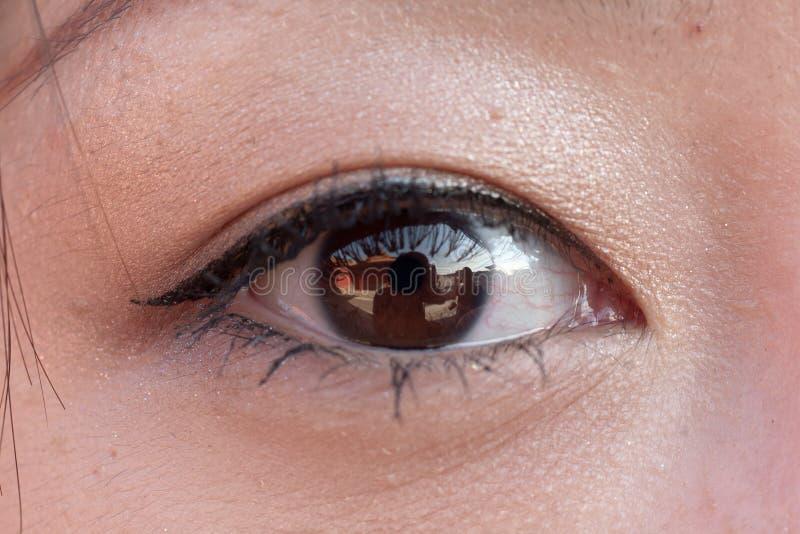 öga fotografering för bildbyråer