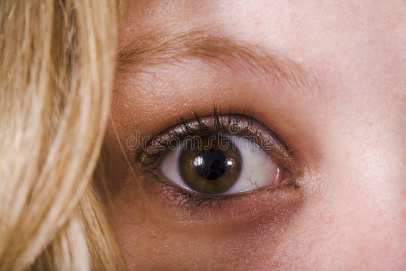 Download öga arkivfoto. Bild av öga, flicka, medf8ort, kvinna, gulligt - 512942