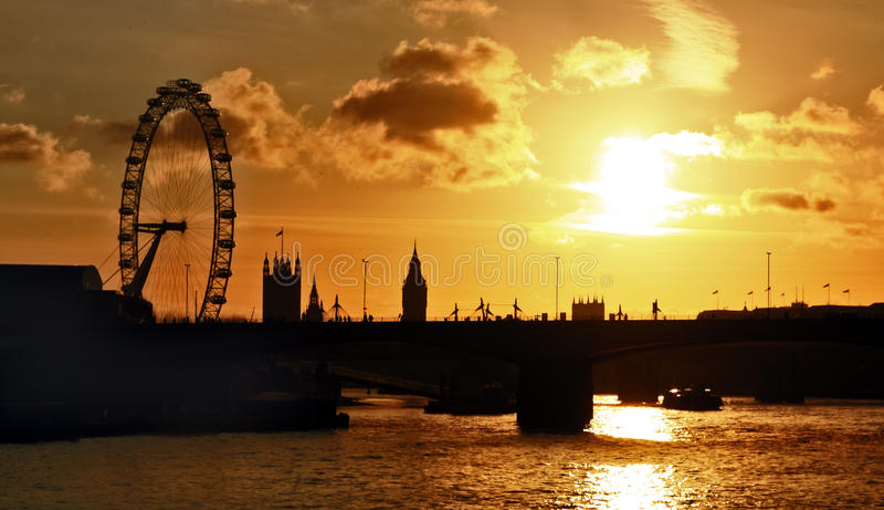 öga london royaltyfri foto
