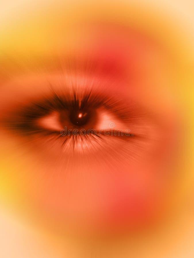 öga som håller ögonen på dig vektor illustrationer