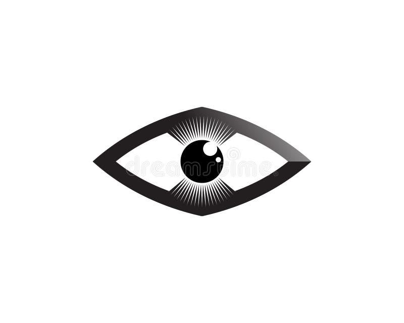 Ögat av Horus & x28; Öga av rommar, Wadjet& x29; trott av forntida egyptier för att ha att läka och skyddande överhet vektor illustrationer