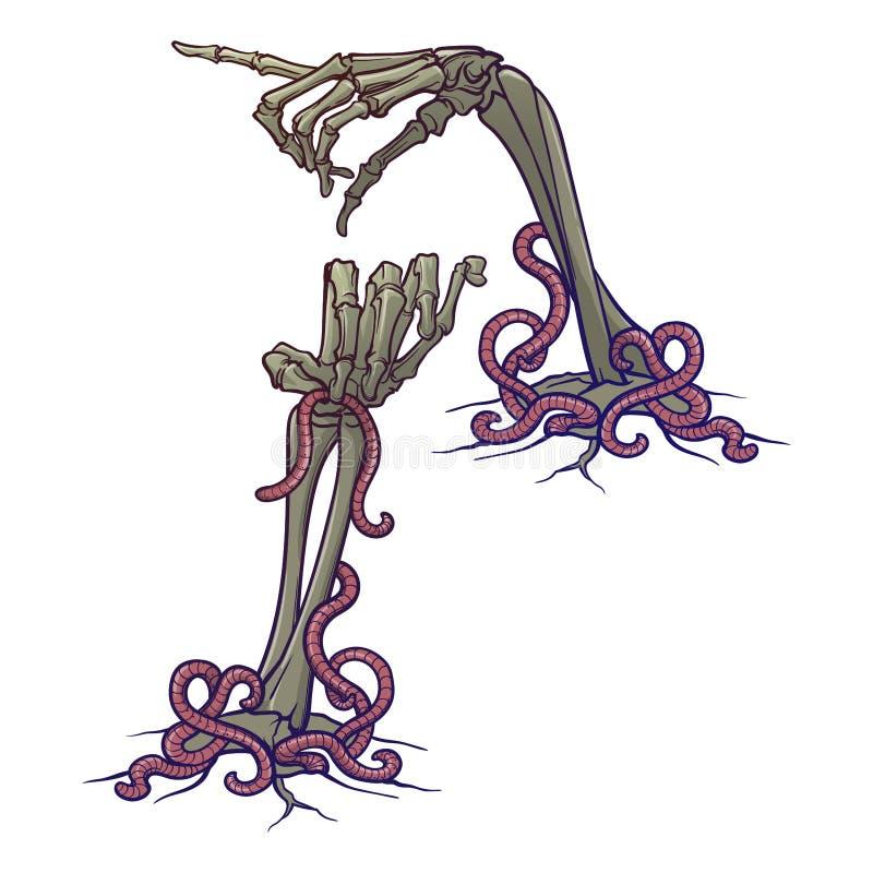 ögon allvarliga halloween för element för slagträblackdesignen inkluderar häxan för taranteln för pumpa för stålarlykta o Uppsätt royaltyfri illustrationer