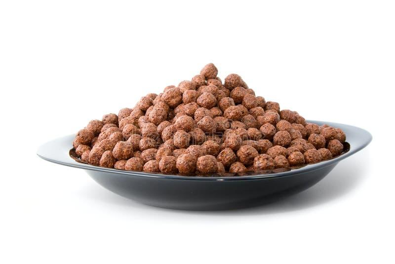 ögonblickligt smakligt för frukostchoklad royaltyfri bild