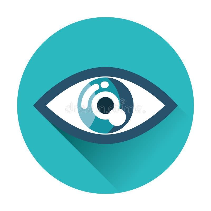 Ögonsymbol royaltyfria foton