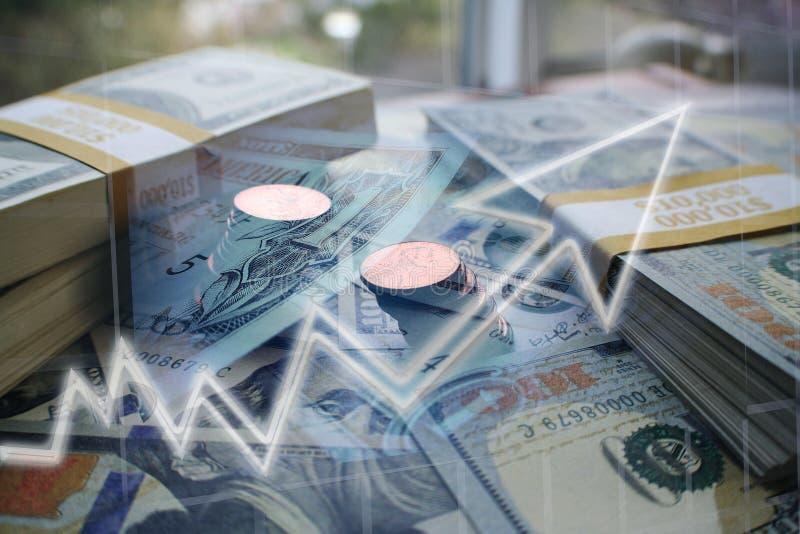Öka för affärs- & finansvinster som är högkvalitativt royaltyfri fotografi