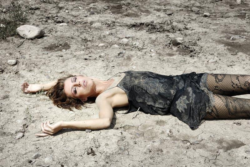 ökenkvinna fotografering för bildbyråer
