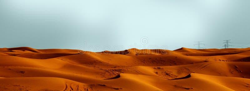Öknar Dubai arkivfoto