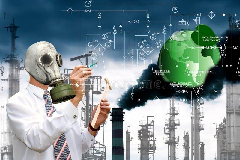 Ökologie in der Gefahr stockfoto