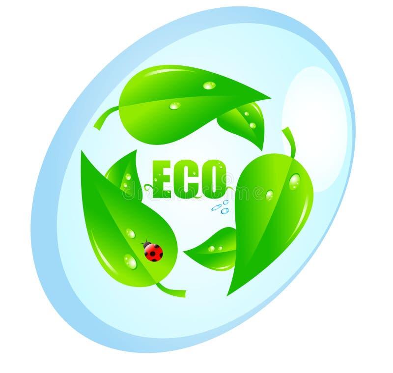 Ökologisches Konzept vektor abbildung