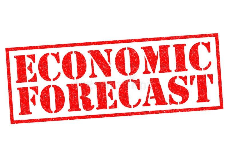 Ökonomische Prognose stock abbildung